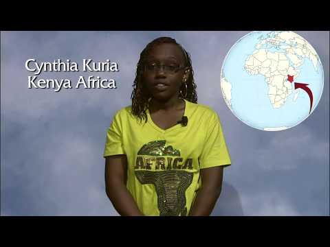 International Student: Cynthia (Kenya, West Africa)