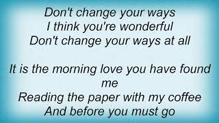 Josh Rouse - Wonderful Lyrics