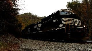 Intermodal Train Mohegan, WV October 28, 2017