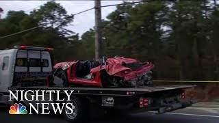 Two Killed When Porsche Launches Into Second Floor Of New Jersey Building | NBC Nightly News