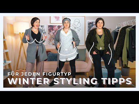 MIT WINTER KLEIDUNG FIGUR RICHTIG BETONEN | Styling Tipps für große Größen | #kleinundkurvig
