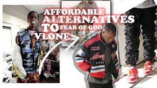 BEST ALTERNATIVES TO MENS DESIGNER/VINTAGE CLOTHING [ TRAVIS SCOTT/ ASAP ROCKY OUTFITS ] FEAR OF GOD