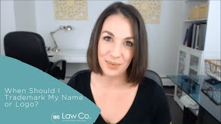 When Should I Trademark My Name or Logo? - All Up In Yo' Business
