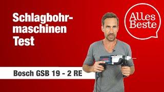 Schlagbohrmaschine Test: Bosch GSB 19 - 2 RE – AllesBeste.de