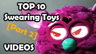 TOP 10 kids toys that SWEAR (Top 10 SWEARING childrens play toys part 2 inc hatchimals phones tanks)