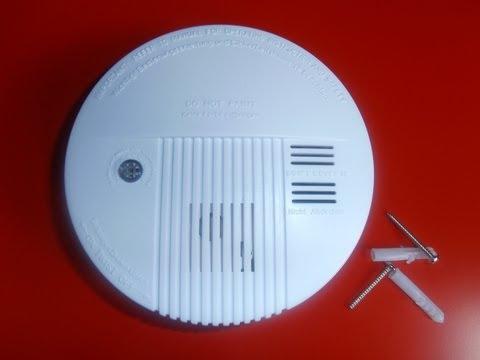 IMPORTANTE, Como instalar alarma de humo contra incendios.
