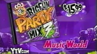 YTV (2002) - Big Fun Party Mix 3 Music World Promo