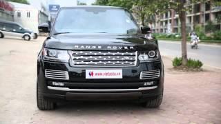 Chiêm ngưỡng Range Rover Autobiography LWB Black Edition tại Hà Nội