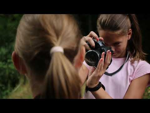 Fotós táborban tanultak fényképezni a helyi gyerekek