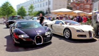 Bet he didn't expect to see another $1.5Million BUGATTI VEYRON around the corner!