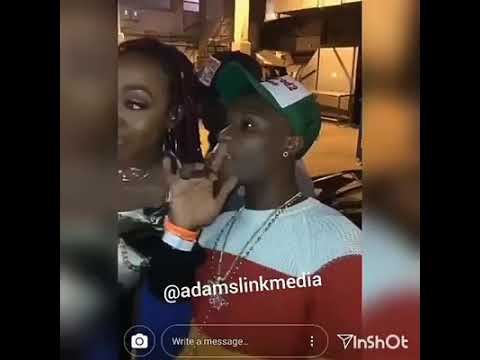 LEAKED!!!Tiwa Savage caught dancing NAKED for Wizkid in private.