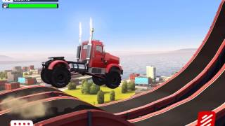 MMX HILL CLIMB Android / iOS Gameplay Video   The Big Rig