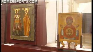Russian Icons on display for first time in Rome