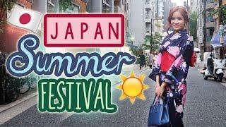 JAPANESE SUMMER FESTIVAL | Japan Street Food | KimDao