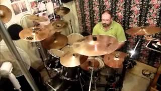 """Trouble """"John Farnham"""" drum cover"""