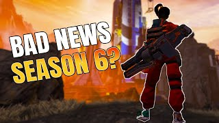 Bad News For Season 6? + Release Date Changed  Apex Legends News