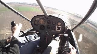 Flavio Dominguez volando en el Rans S12.