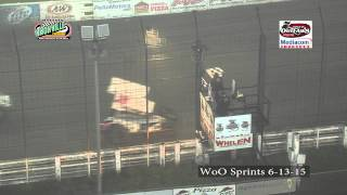 Sprint_Cars - Knoxville2015 MediaCom Shootout Highlights