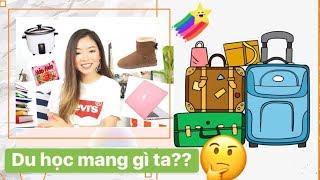 DU HỌC mang gì - KHÔNG mang gì ✈️ 🎓 |  Phuong PTT Nguyen