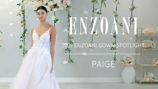 Wedding Gown Spotlight – Enzoani PAIGE from the 2021 Bridal Collection