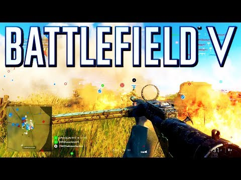 Battlefield 5: New Operations Map is Amazing! (Battlefield V Multiplayer Gameplay)