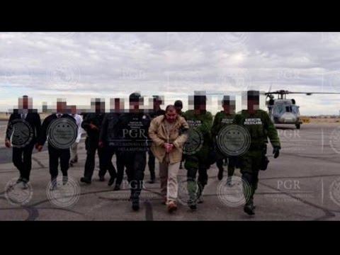 """Extradición de Joaquín """"El Chapo"""" Guzmán. Video Cortesía: AGENCIA EFE"""
