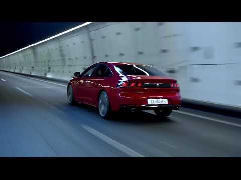 Peugeot  508 Лифтбек класса D - рекламное видео 1