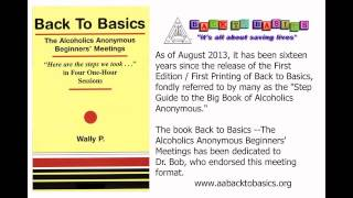 BACK TO BASICS --- Wally P. --- Sept. 22, 2012