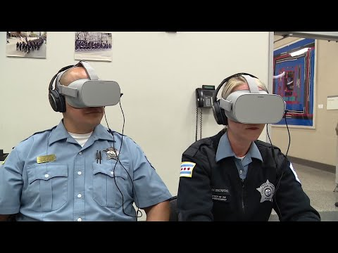 Police officers are now using virtual reality to learn the best ways to interact with people who suffer from autism and de-escalate situations that could quickly turn awry. (May 24)