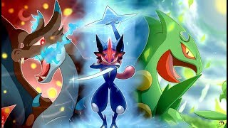 Pokemon AMV Ash and Greninja 4 - Hero