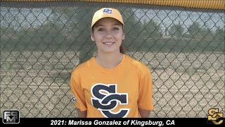 2021 Marissa 'Rabbit' Gonzalez Catcher & Shortstop Softball Skills Video