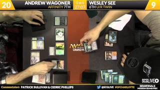 Grand Prix Charlotte 2015 Semifinals (Part 2)