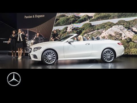 E-Class Cabriolet World Premiere – Mercedes-Benz original