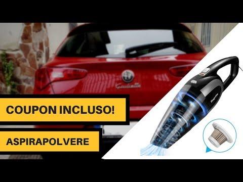 Aspirapolvere per AUTO economico - ( Accessorio per pulire gli interni )