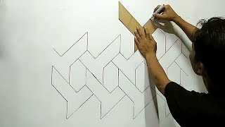 WALL PAINTING ART WALL DECORATION | MURAL DINDING 3D