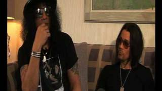 SLASH   PART 2 - Interview by Roadrunner UK - Slash Army