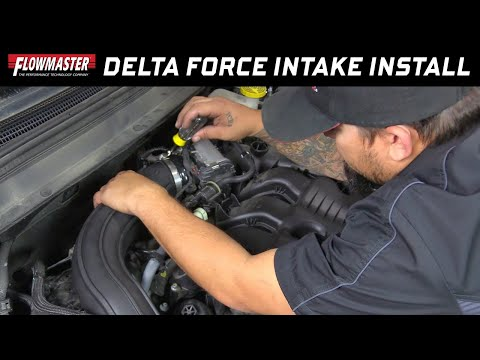 2014-17 Jeep Cherokee 3.2L - Install: Flowmaster Delta Force Cold Air Intake 615156