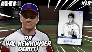 98 Hal Newhouser DEBUT! MY BEST GAME EVER! 15+ RUNS! No Money Spent #19 MLB The Show 20