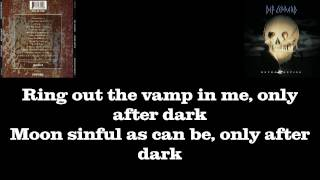 "Def Leppard - ""Only After Dark"" | Lyrics | HQ Audio"