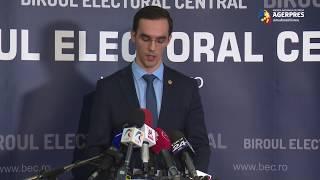 #Prezidenţiale2019/BEC - prezenţa la urne: Până la ora 13,00, au votat 20,68% dintre alegători