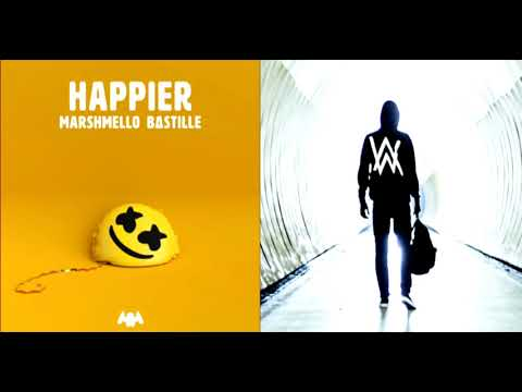 "Faded Vs Happier (Mashup) - Alan Walker X Marshmello ""Original Mix"""