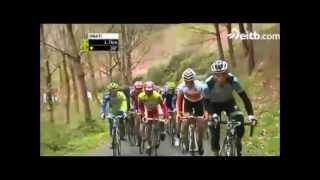 preview picture of video 'Euskal Herriko Itzulia 2012 5. etapa amaiera, Garagartza igoera..wmv'