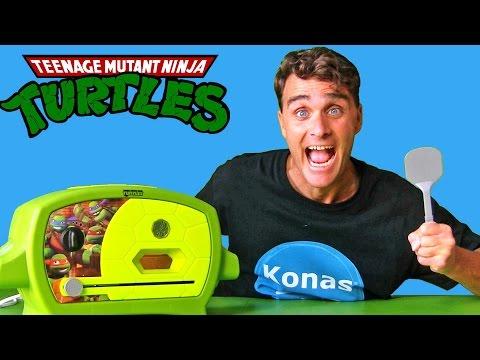 Teenage Mutant Ninja Turtles Pizza Oven ! || Toy Review || Konas2002