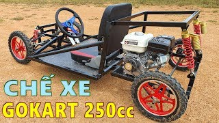 Chế Xe GoKart 250cc - Xe GoKart KST