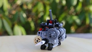 Lego Technic 6-speed gearbox w/ instructions