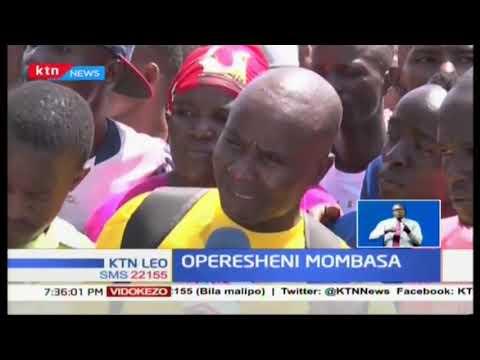 Operesheni Mombasa: Magari ya umma yakosekana barabarani