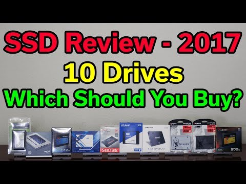 SSD Review – Which Should You Buy? – 2017 Edition