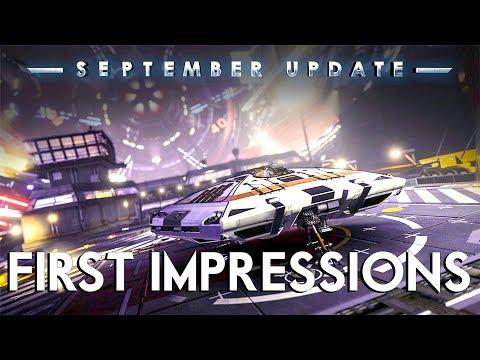 Elite Dangerous - September Update - First Impressions (It's A BIt Broken)