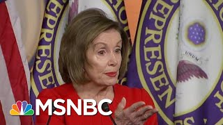 'That's Bribery': Speaker Pelosi Says Trump Committed Bribery, An Impeachable Offense | MSNBC