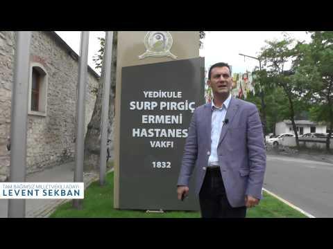 Bağımsız Milletvekili Adayı Levent Sekban Surp Pırgic Ermeni Vakfı Hastanesi Ziyareti
